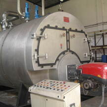 Steam boiler Visomor, 7 ton/h