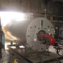 Steam boiler C.S.C., 2 ton/h