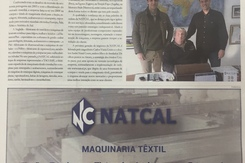 NATCAL in the newspaper - 22/02/2018