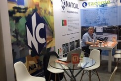 Natcal is present again in the biggest textile fair in South America, Colombiatex 2018, in Medellín